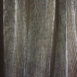 no tag // vintage Skirts - Vtg Ruffle pleated metallic gold and black skirt